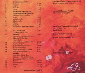 2 CD Rückseite
